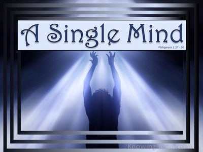 A Single Mind (devotional)